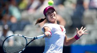 李娜挽救赛点逆转萨法洛娃 连续5年进澳网16强
