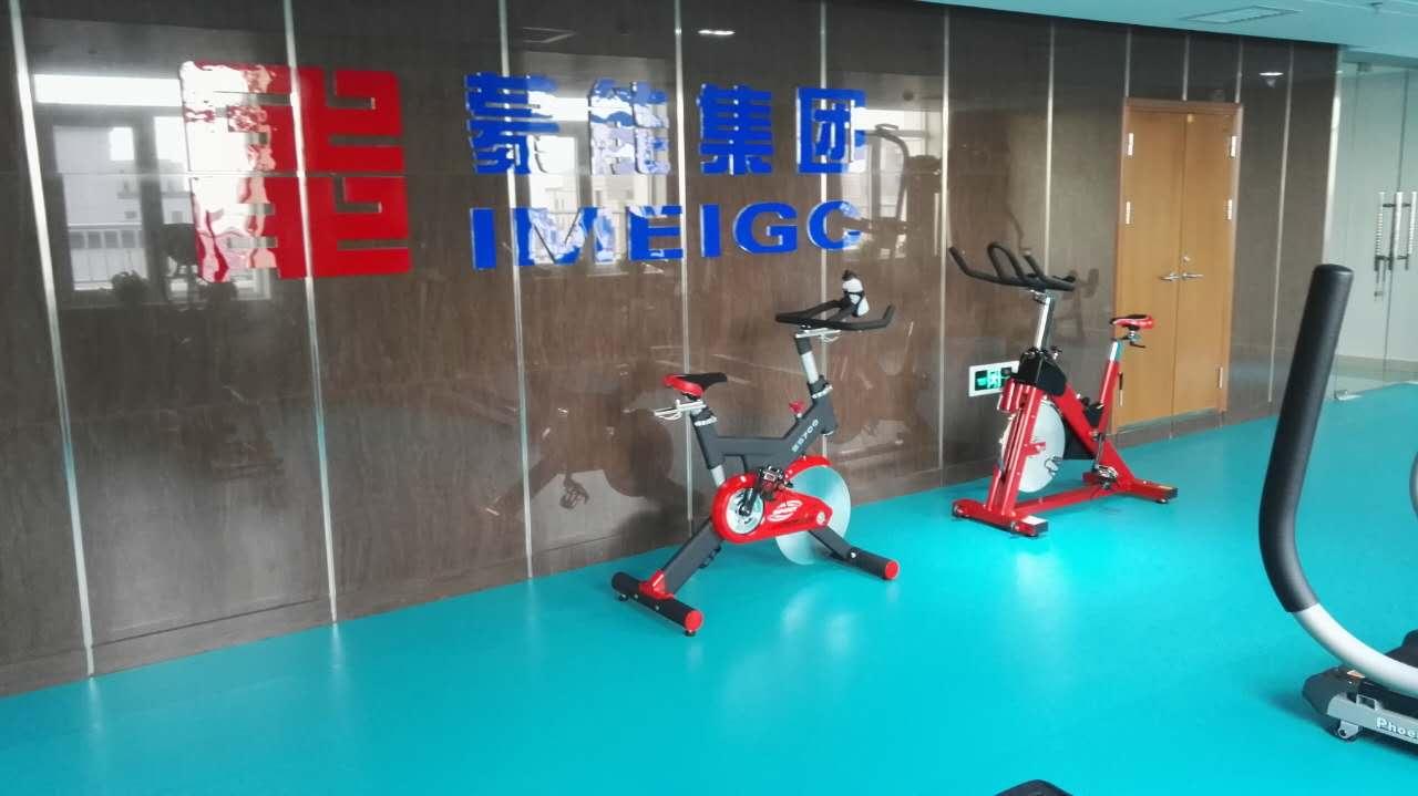 客户案例——蒙能集团职工健身房